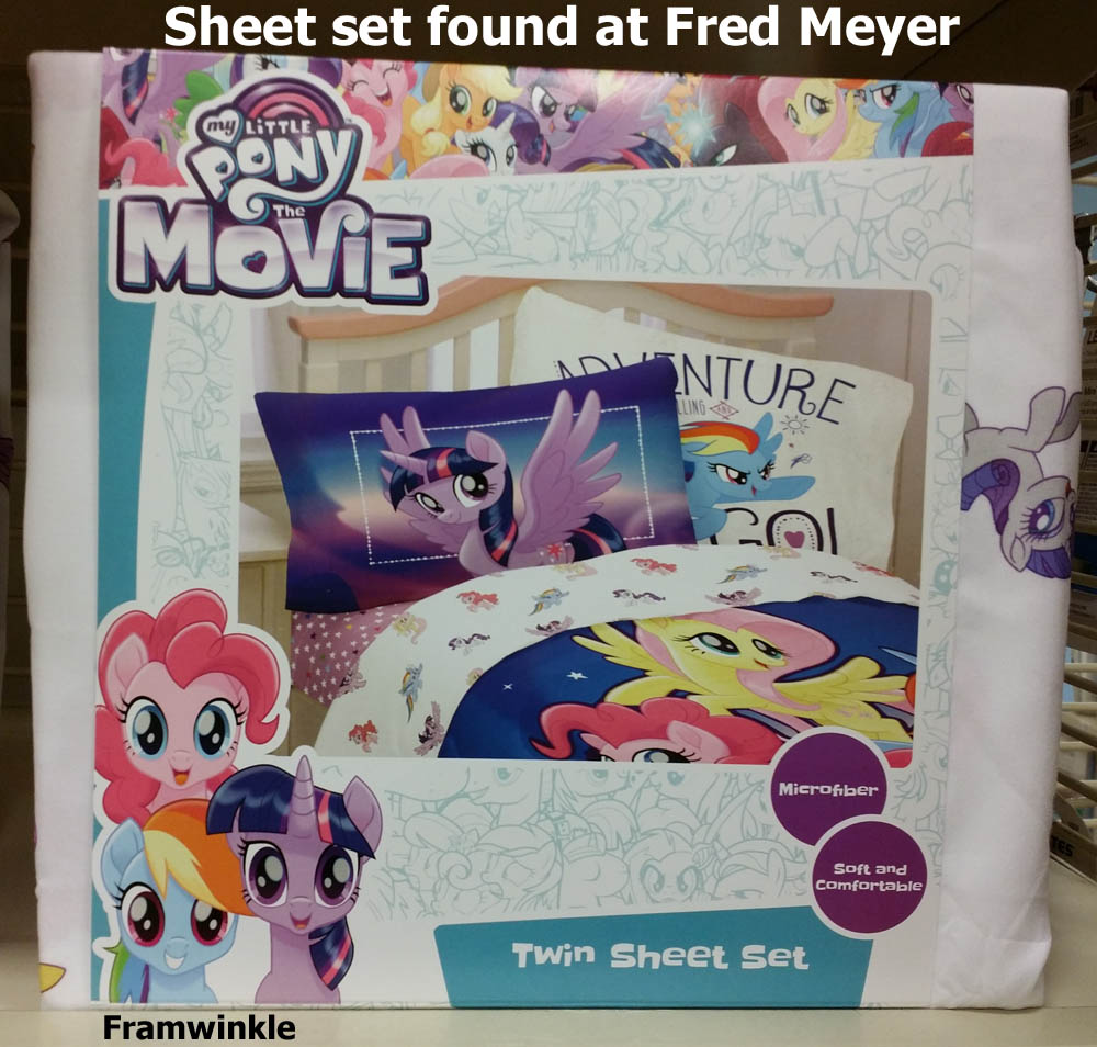Pony Movie Bedding Spotted At Fred Meyer