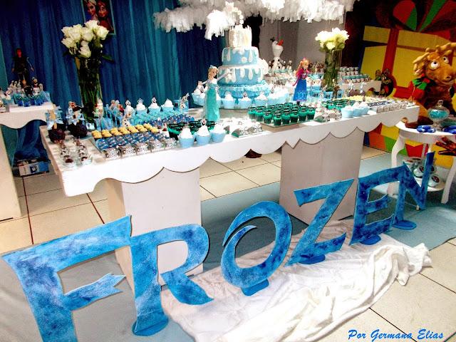 Biscuit: lembrancinhas frozen, centros de mesa frozen, mimo...