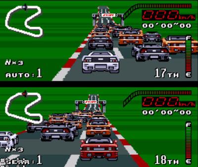 【SFC】超越巔峰1代+金手指下載,經典超任賽車遊戲!