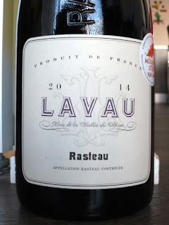 Lavau Rasteau 2014 (89 pts)