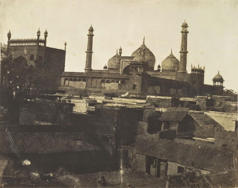 Jumma or Jama Masjid, Delhi - 1858