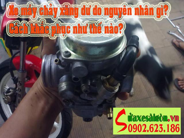 Nguyên nhân gây bệnh xe máy bị chảy xăng dư và cách khắc phục
