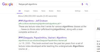 البحث عن ملفات كتب PDF على جوجل مباشرةً