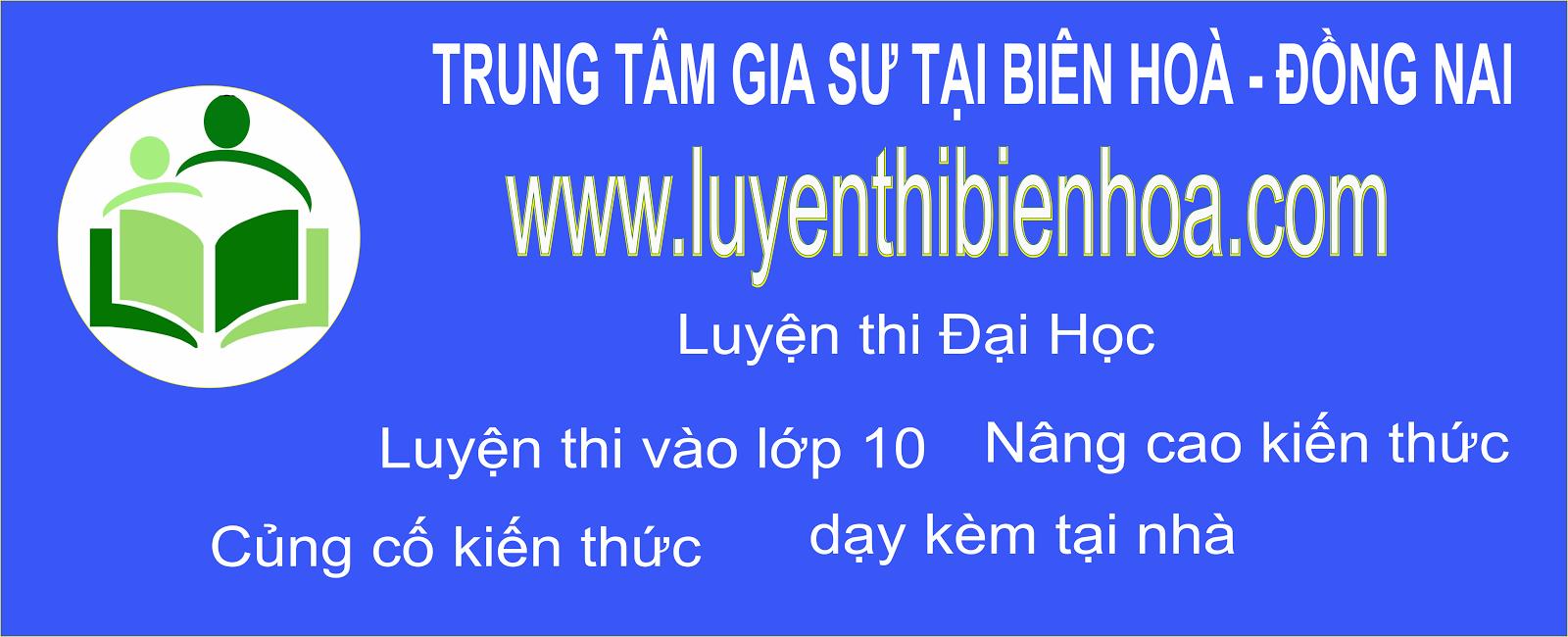 Gia sư Biên Hoà