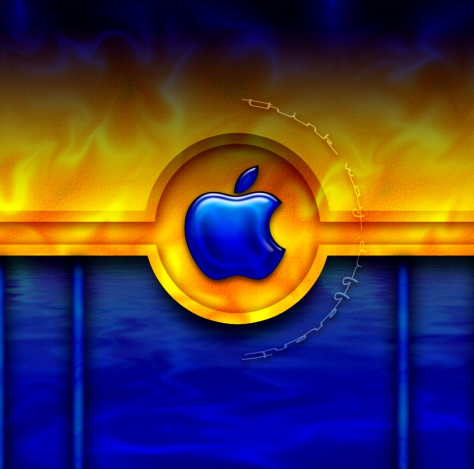 Apple Logo Yellow Wallpapers Wallpapers Turret