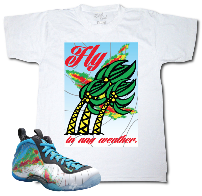 94440aaead60a9 Pick up your t-shirt to match the Nike Foamposite