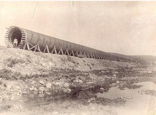 Fából készült csővezeték