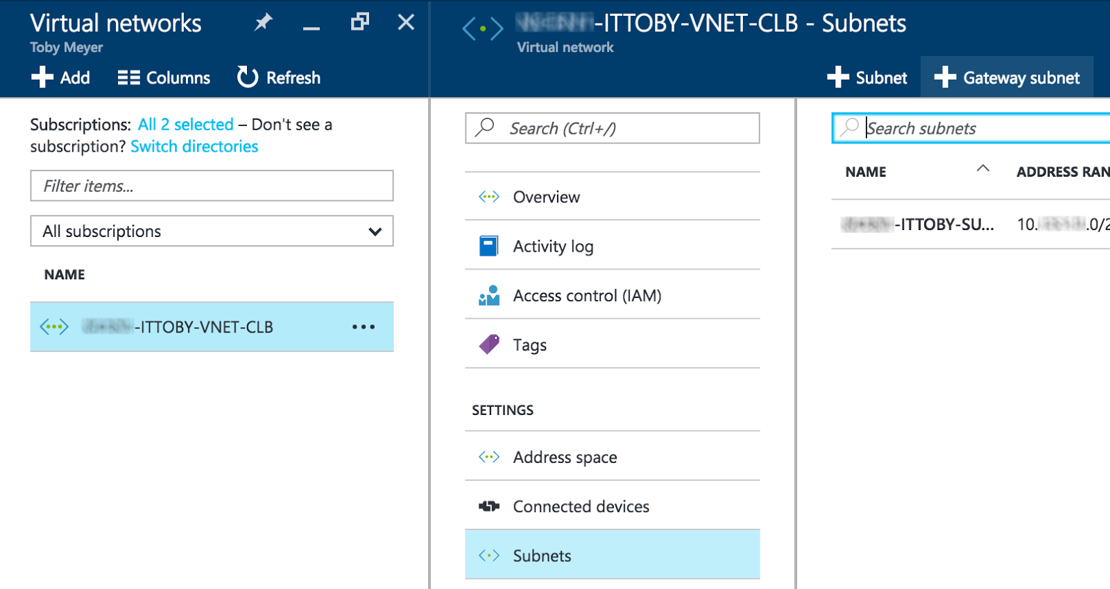 itToby: Tunnel to the Cloud: Azure Site to Site IPsec Connection