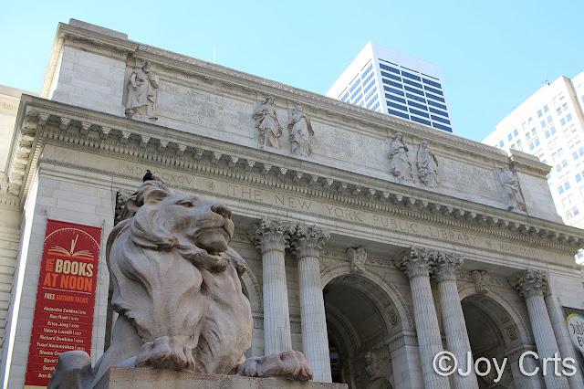 Bilbiothèque publique, New York