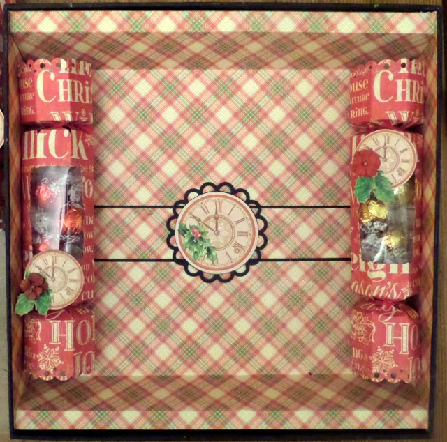 Twas the Night Before Christmas Box of Crackers 2 Clare Charvill Graphic 45 Ambassador