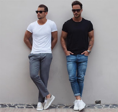 baju kaos pria trend 2017