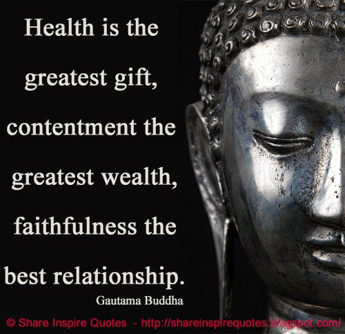Motivational Inspirational Quotes: Buddha Quotes On Contentment. QuotesGram