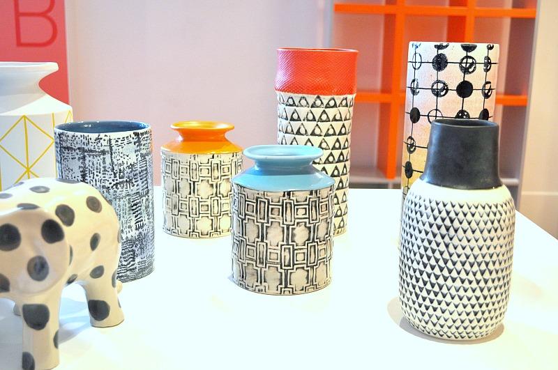 Hand crafted ceramic vases from Habitat AW15 range
