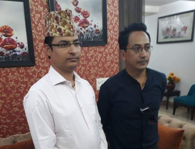 Raju Bhist Declared BJP MP candidate from Darjeeling