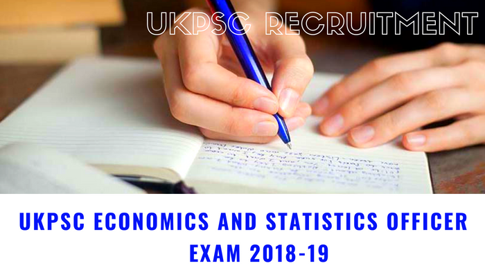 Ukpsc Economics And Statistics Officer Recruitment 2018