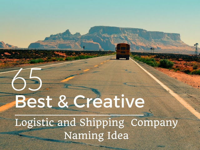 Logistic and Shipping Company Naming Ideas