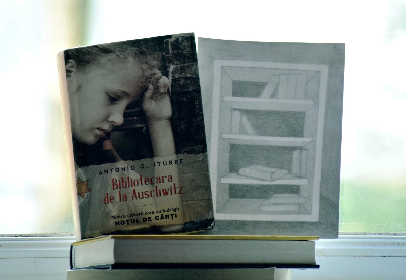 "Bibliotecara de la Auschwitz, Antonio G. Iturbe. """