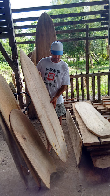 Nicki Wynnychuk tupira wooden surfboards