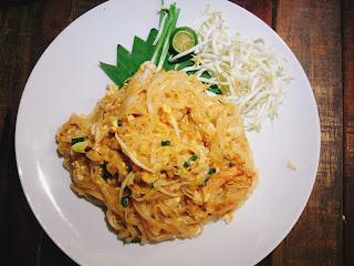Pad Thai without chilli flakes