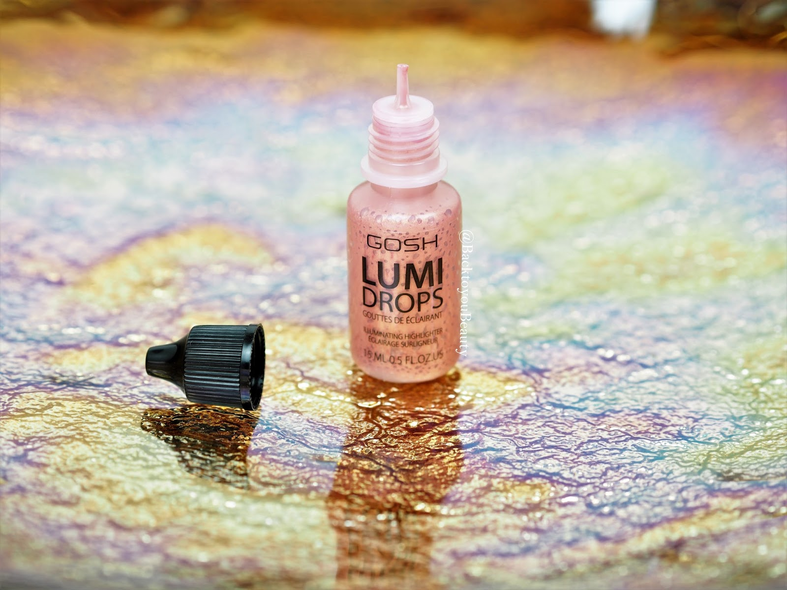 GOSH LumiDrops in shade Rose Gold