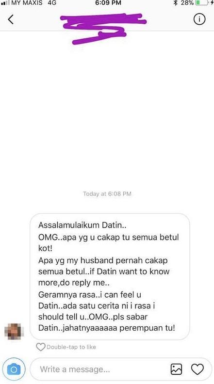 Rebecca Nur Al-Islam Gaduh Dengan Eina Azman