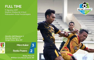 Mitra Kukar Kalahkan Barito Putera 3-2 #GojekTravelokaLiga1