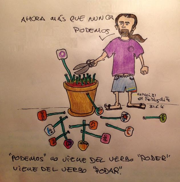 """""""Podemos"""" no viene del verbo """"poder"""", viene del verbo """"podar"""" - ÁlvaroGP - El troblogdita"""