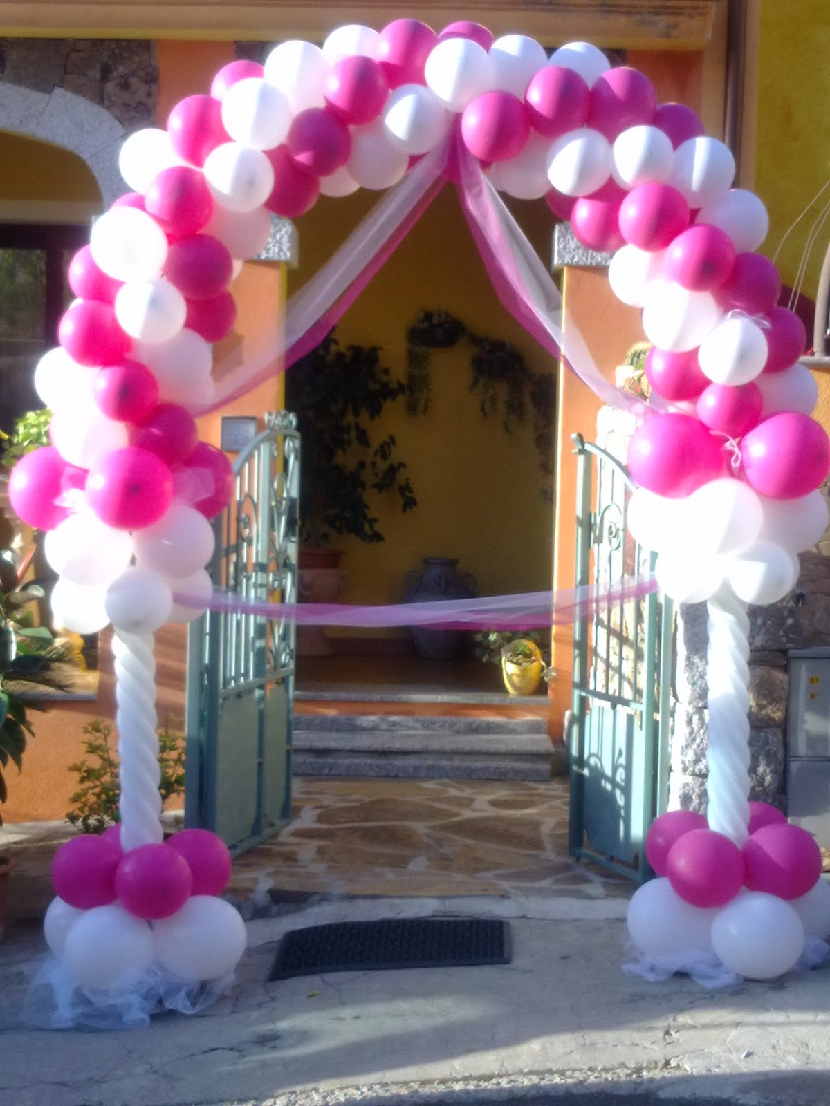 Super The magic world of balloons, party and other: Arco di palloncini  GV18