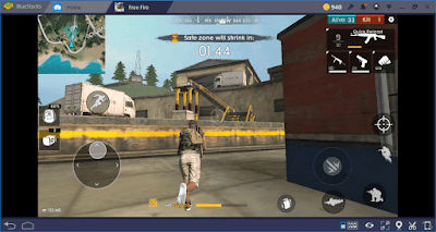 Bermain Free Fire di PC