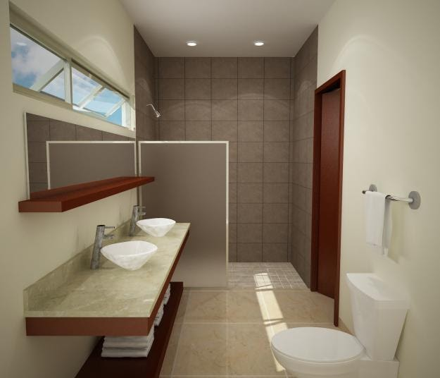 Decoraci n minimalista y contempor nea decoraci n de for Decoracion de banos modernos minimalistas
