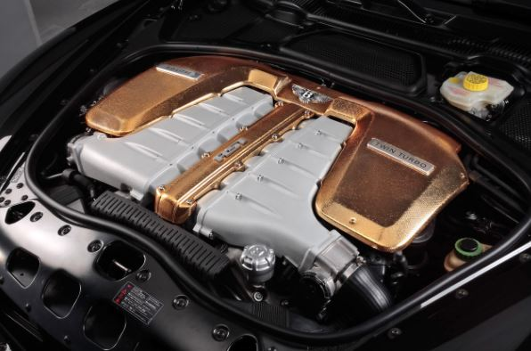 2017 Bentley Continental GT Engine