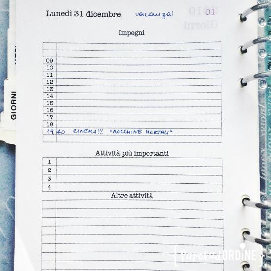 paroladordine agenda 2019 giorno