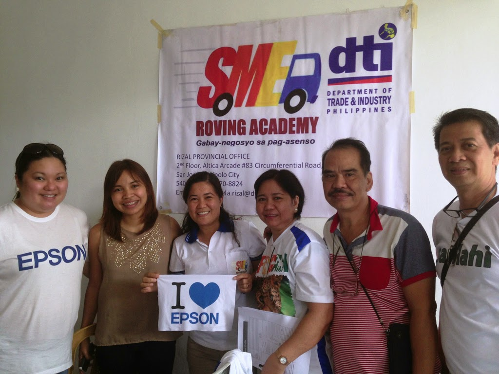 Epson Philippines Supports SMEs Through DTI's SME Roving Academy