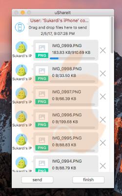 ShareIt - Mengirim File dari Mac ke iPhone dengan Wifi
