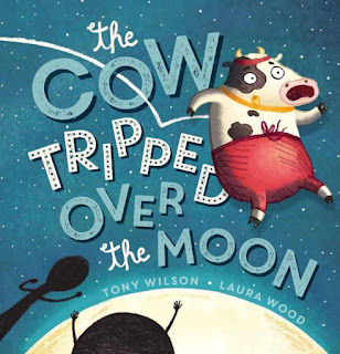 kids' book review review the cow tripped over the moon
