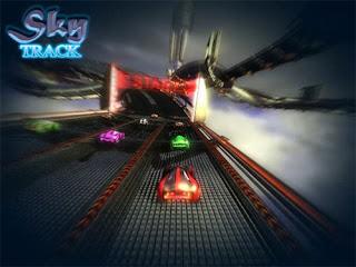 Image result for لعبة سباق السيارات Sky Track