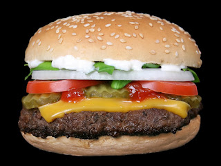 Cheeseburger for National Cheeseburger Day September 18