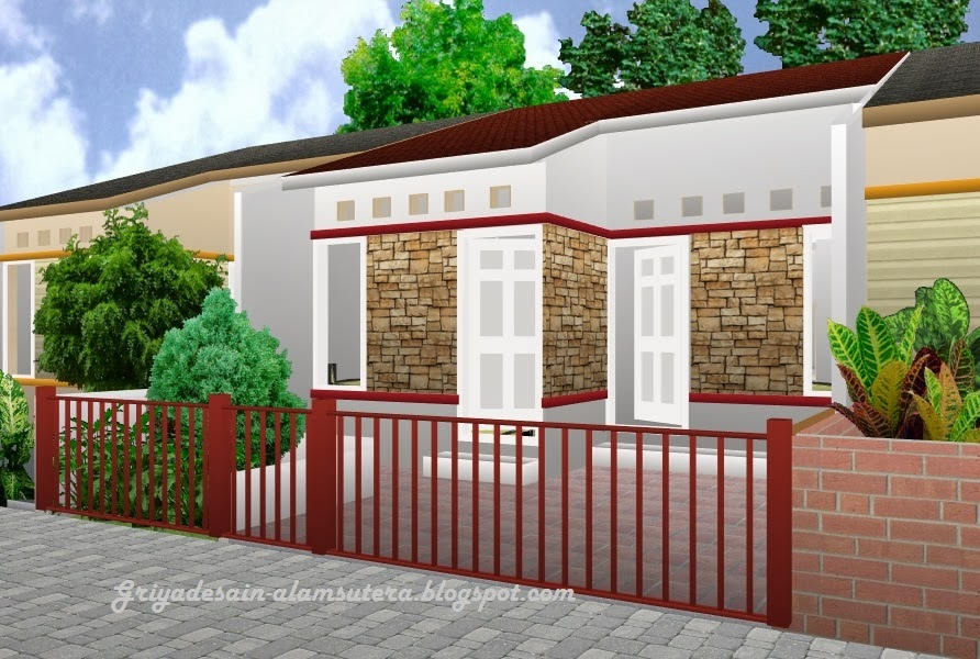 Desain Rumah Kontrakan 2015  Gambar Rumah Minimalis