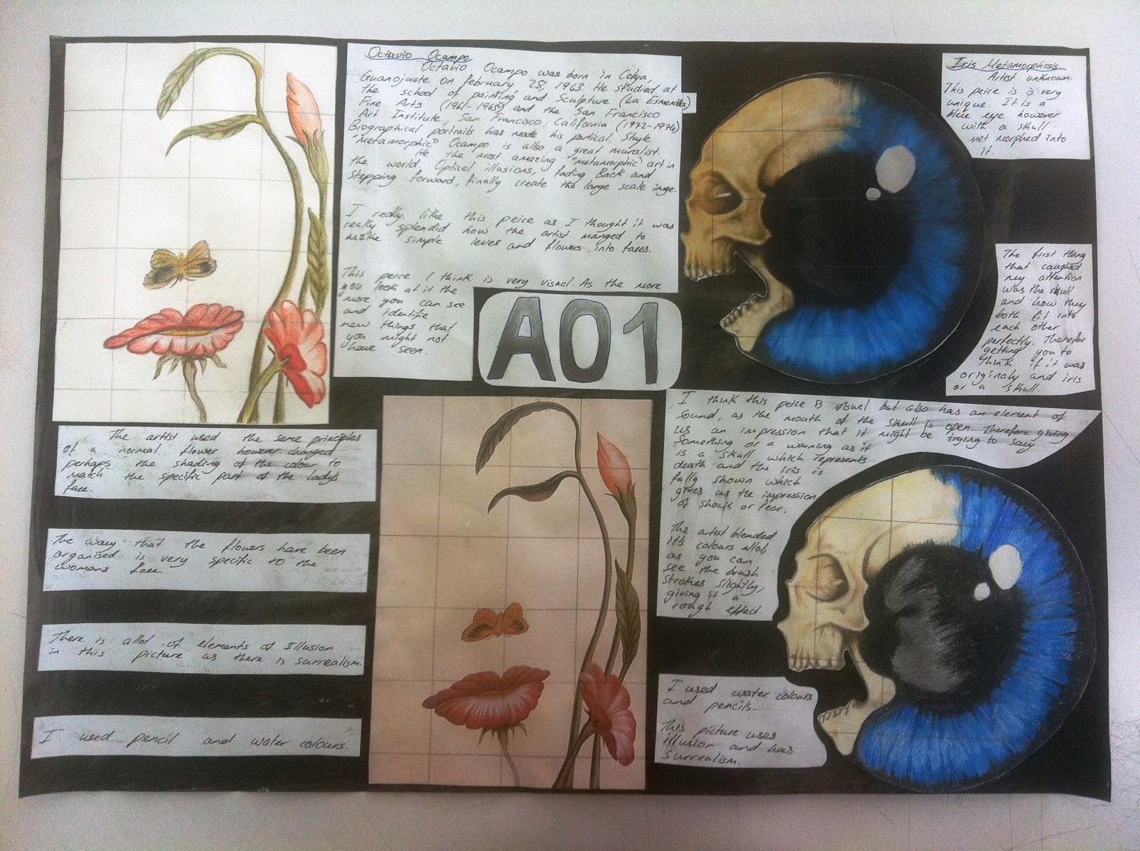 A level art coursework help