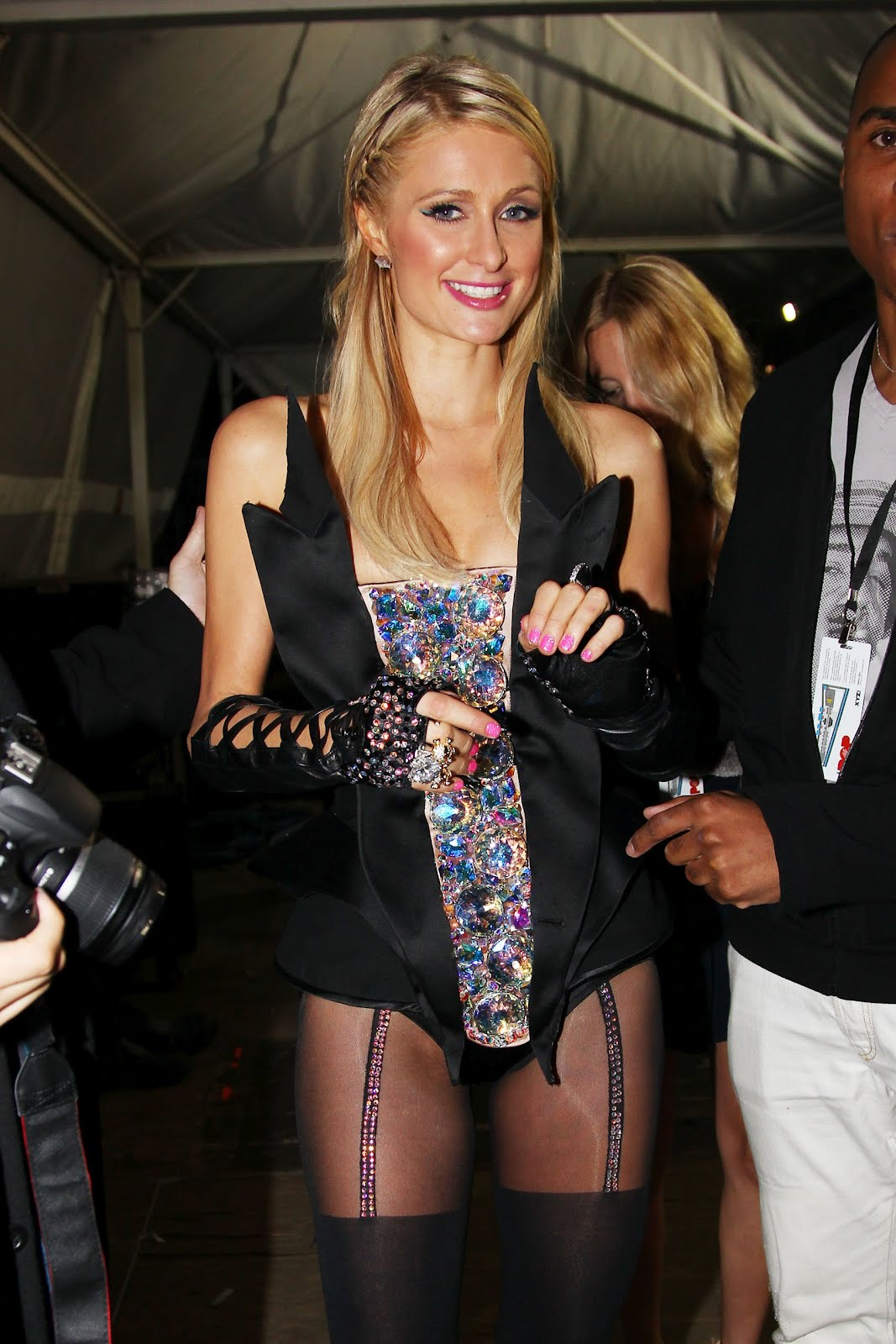 Hanna hilton pantyhose miniskirt - 1 part 10