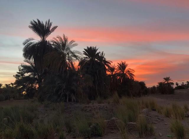 منظر  طبيعي شمال السودان