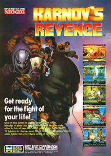 Karnov's Revenge / Fighter's History Dynamite ( Arcade )