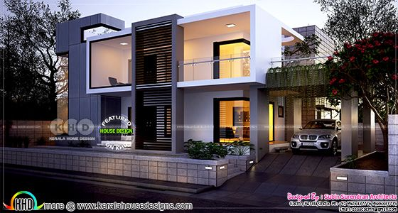 4 bedroom luxurious contemporary home design