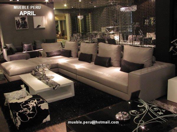 Mueble peru: modernos muebles de sala seccionales