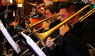 Concierto de la big Band Torrejón el 13 de Enero en Madrid - España / stereojazz