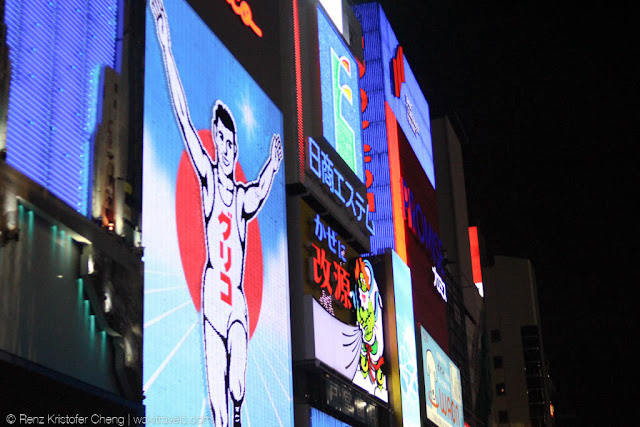 Glico Man in Dotonbori
