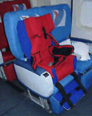 travel and flying with kids with special needs,  seat