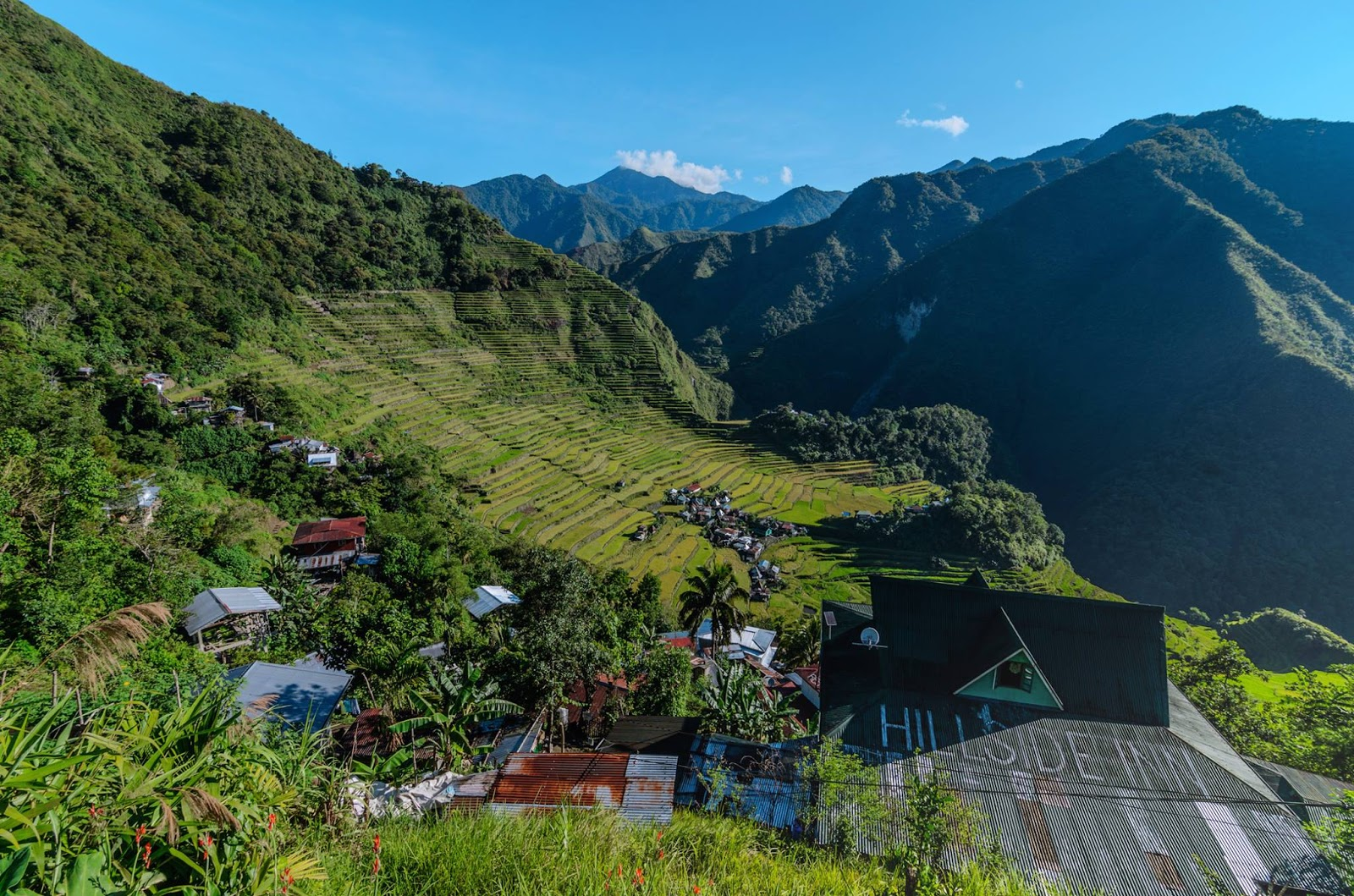 8th Wonder of the World Batad Rice Terraces Ifugao Cordillera Administrative Region Philippines Light Almost Filled Out