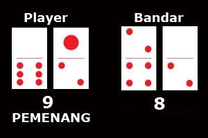 Apabila Player mendapatkan angka QIU (9)