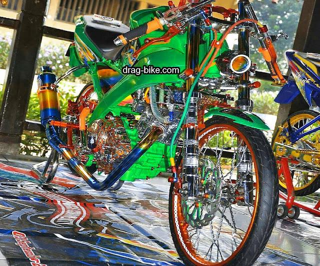 Foto Gambar Modifikasi Motor Yamaha Vixion Kontes Yang Terbaik